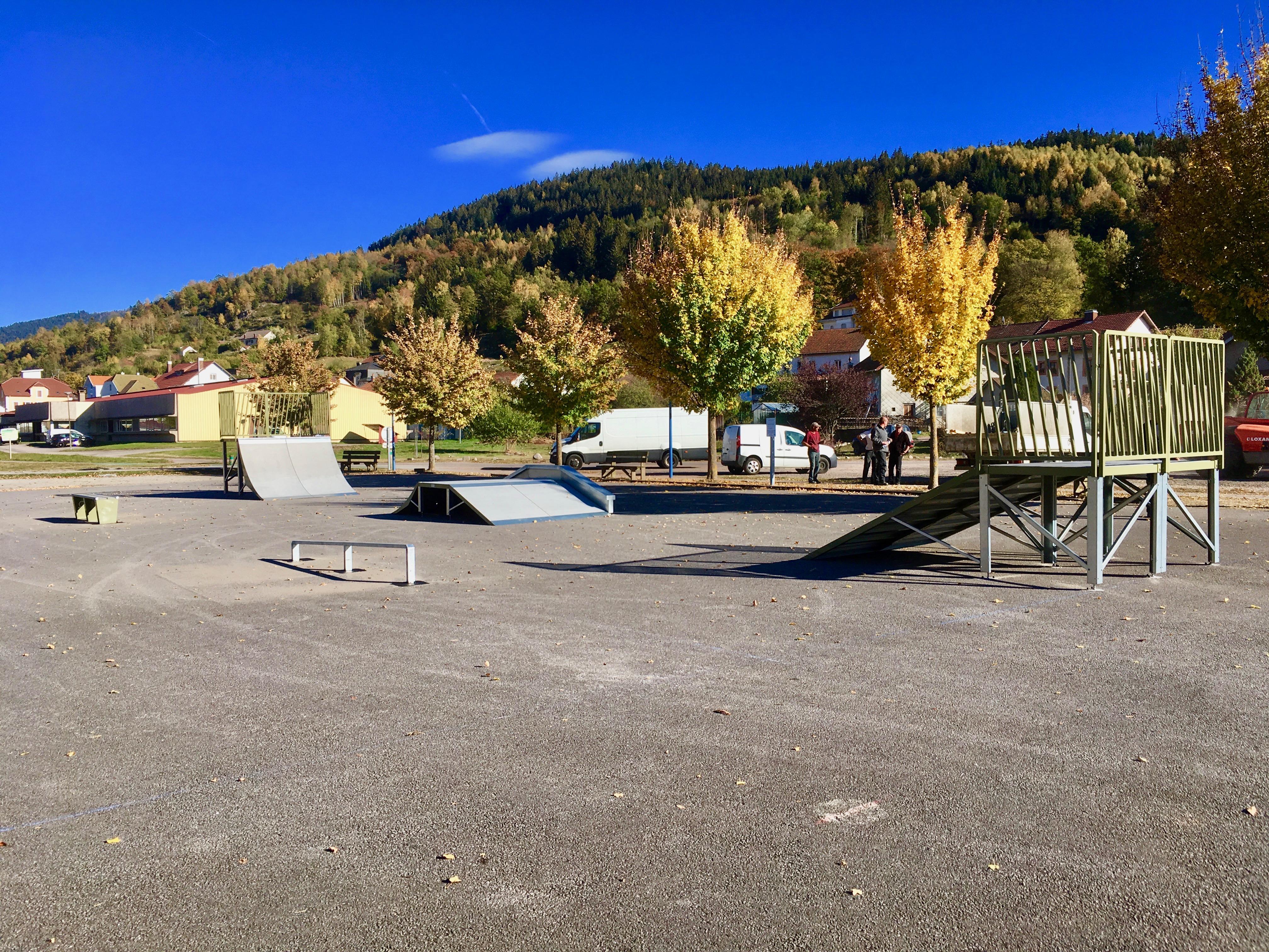 Skate park de CORNIMONT
