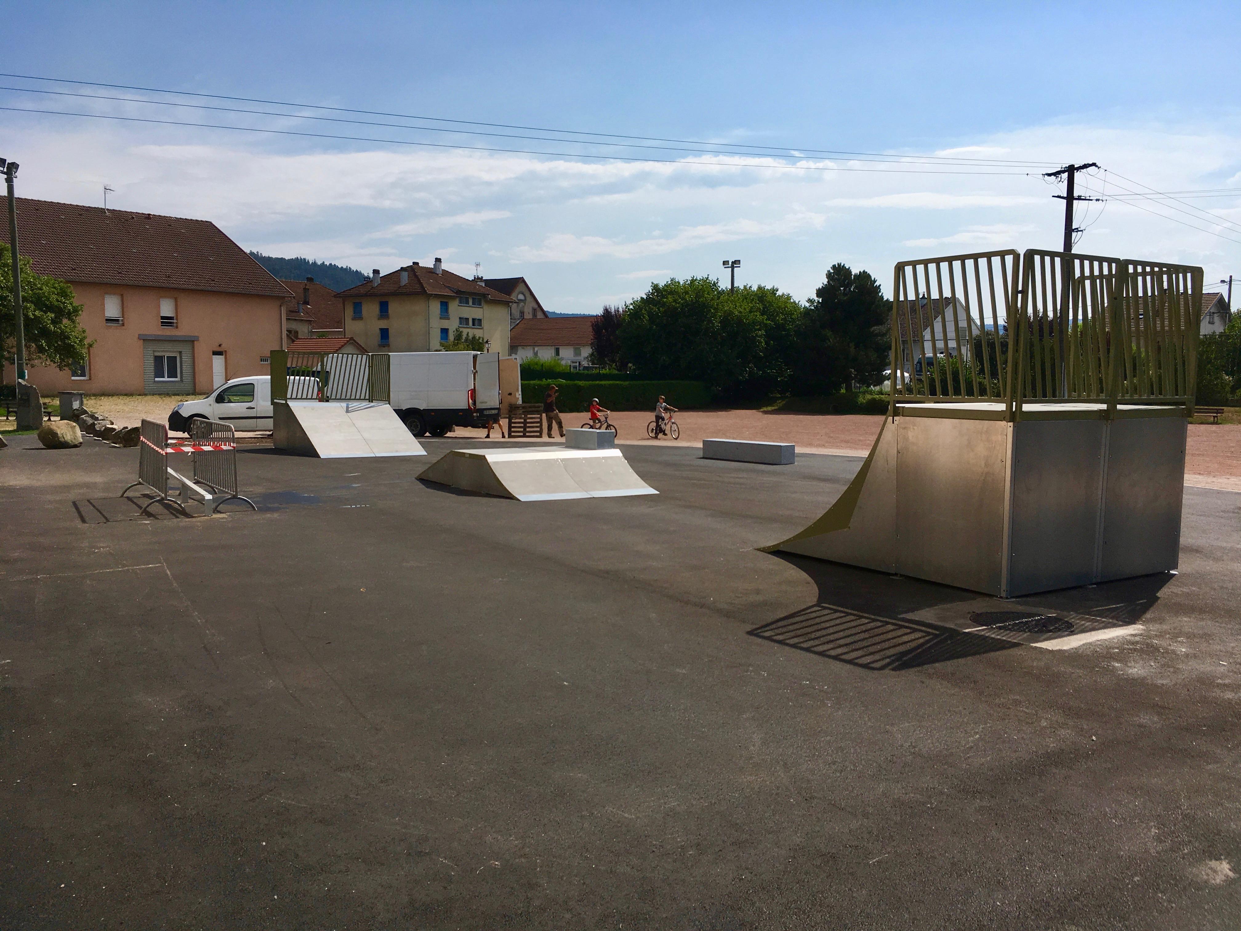 Skate park de SAINT AME